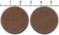 Изображение Монеты Норвегия 5 эре 1960 Медь VF Лось