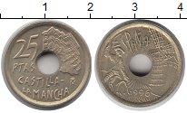 Изображение Монеты Испания 25 песет 1996 Медно-никель XF