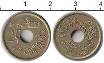 Изображение Монеты Испания 25 песет 1994 Медно-никель XF