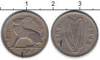 Изображение Монеты Ирландия 3 пенса 1949 Медно-никель XF