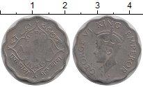 Изображение Монеты Индия 1 анна 1946 Медно-никель VF
