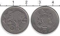 Изображение Монеты Намибия Намибия 1998 Медно-никель