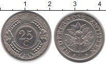 Изображение Монеты Антильские острова 25 центов 2007 Медно-никель UNC-
