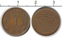 Изображение Монеты Гайана 1 цент 1969 Медь XF