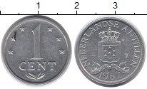 Изображение Монеты Антильские острова 1 цент 1982 Алюминий XF