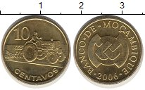 Изображение Монеты Мозамбик 10 сентаво 2006 Медь UNC-