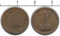 Изображение Монеты Индия 1 пайс 1964 Медь VF