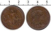 Изображение Монеты Франция 5 сантим 1916 Медь VF