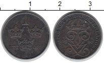 Изображение Монеты Швеция 1 эре 1950 Железо VF вензель