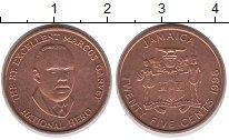 Изображение Монеты Ямайка 25 центов 1996 Медь XF