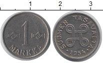 Изображение Монеты Финляндия 1 марка 1954 Железо XF