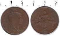 Изображение Монеты Франция 5 сентим 1916 Медь VF