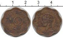 Изображение Монеты Цейлон Цейлон 1944 Медь XF