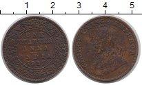 Изображение Монеты Индия 1/4 анны 1927 Медь VF