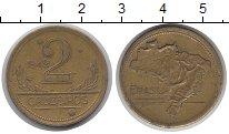 Изображение Монеты Бразилия 2 крузейро 1949 Медь XF