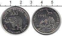 Изображение Монеты Эритрея 100 центов 1997 Железо UNC
