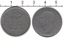 Изображение Монеты Италия 1 лира 1940 Железо XF Виктор Эммануил III.