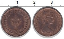 Изображение Монеты Великобритания 1/2 пенни 1973 Медь XF