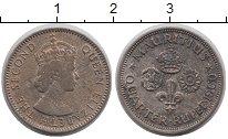 Изображение Монеты Маврикий 1/4 рупии 1960 Медно-никель