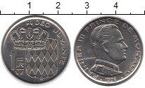 Изображение Монеты Монако 1 франк 1975 Медно-никель XF