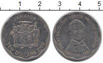 Изображение Монеты Ямайка 10 долларов 2008 Медно-никель XF