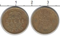 Изображение Монеты Макао 10 авос 1993 Медь XF