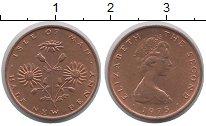 Изображение Монеты Остров Мэн 1/2 пенни 1975 Медь XF