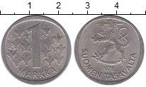 Изображение Монеты Финляндия 1 марка 1978 Медно-никель XF
