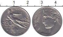 Изображение Монеты Италия 20 сентесим 1921 Медно-никель XF