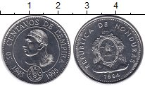 Изображение Монеты Гондурас 50 сентаво 1995 Железо XF Голова индейца - гер