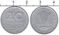 Изображение Монеты Венгрия 20 филлеров 1964 Алюминий VF