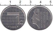 Изображение Монеты Нидерланды 1 гульден 1995 Медно-никель XF
