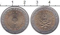 Изображение Монеты Аргентина 1 песо 2013 Биметалл UNC-