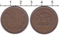 Изображение Монеты Чили 100 песо 1995 Медь XF