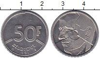 Изображение Монеты Бельгия 50 франков 1991 Медно-никель XF