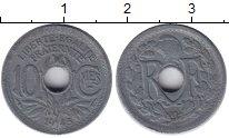 Изображение Монеты Франция 10 сантимов 1945 Цинк VF