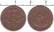 Изображение Монеты Колумбия 1 сентаво 1966 Медь XF