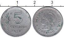 Изображение Монеты Аргентина 5 сентаво 1972 Алюминий XF