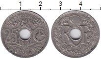 Изображение Монеты Франция 25 сентим 1918 Медно-никель XF