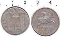 Изображение Монеты Испания 10 сентимо 1945 Алюминий VF