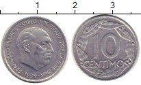 Изображение Монеты Испания 10 сентим 1959 Алюминий XF Франко