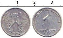 Изображение Монеты ГДР 1 пфенниг 1953 Алюминий VF