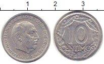 Изображение Монеты Испания 10 сентимо 1959 Алюминий XF