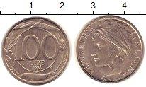 Изображение Монеты Италия 100 лир 1994 Медно-никель XF
