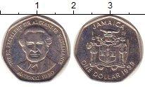Изображение Монеты Ямайка 1 доллар 1999 Медно-никель XF Бустаманте.
