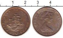 Изображение Монеты Остров Мэн 5 пенсов 1975 Медно-никель XF