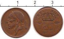Изображение Монеты Бельгия 20 сентим 1953 Медь XF
