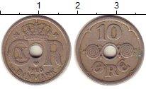 Изображение Монеты Дания 10 эре 1925 Медно-никель XF