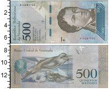 Изображение Банкноты Венесуэла 500 боливар 2016  UNC-