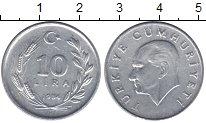 Изображение Монеты Турция 10 лир 1984 Алюминий VF номинал - Ататюрк